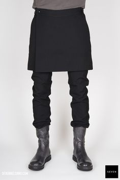 Rick Owens SWINGER MEMPHIS - black 631 € | Seven Shop