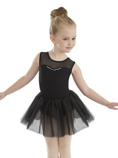 8b46e06a6 ... Dancewar | Rhinestone Tutu Dress - Style RD20003 #Revolutiondancewear  #revolutiondance #dancewear #dancelife #danceuniform #leotards #dresses # dance ...