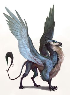this is grimlem he is a mutated Griffin he is a  trickster whith is an evil personality.