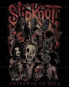 Slipknot Poster by E+N