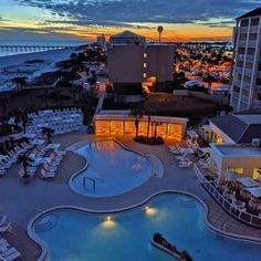 When the sun goes down, the island lights up. Lucky for you, your balcony at the Hilton Pensacola Beach is the best seat in the house. 🌅   @breezerbeej Pensacola Beach Hotels, Las Vegas Hotels, Croatia Travel, Italy Travel, Bangkok Thailand, Thailand Travel, Island Lighting, Nightlife Travel, Hawaii Travel