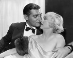 """Clark Gable and Carole Lombard in """"No Man Of Her Own"""" (1932)"""