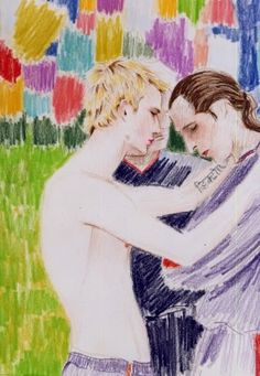David and David, 2002 - Elizabeth Peyton