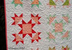 Vintage Stars Quilt Finished | Meadow Mist Designs | Bloglovin'