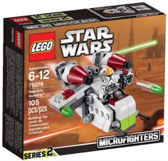 LEGO Microfighters Series 2 Republic Gunship 75076 Winter 2015 Sets
