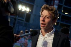 Calfreezy at the Laid in America Premiere