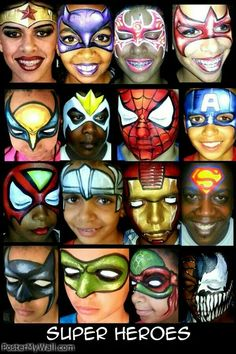 Super Hero Design Board