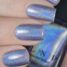 Love this swatch by @ilaeti of our new Spring holographic, Deja Vu! #ILNPDejaVu