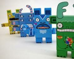 paper monsters - Google Search