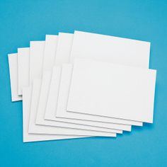 """Buy Canvas Panel 4"""" X 6""""- PK12 at S&S Worldwide. $9.99"""