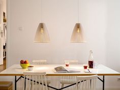 TEIA IUMI DESIGN wooden pendant light by IUMIDESIGN on Etsy