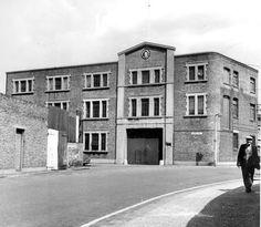 Whitefields factory. Tunmarsh Lane entrance. (Former North Metropolitan Tramways depot). 1970.