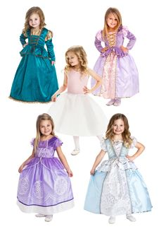 Our Best Selling Princesses Bundle Set - CHOOSE SIZING, up to 65 Lbs.!