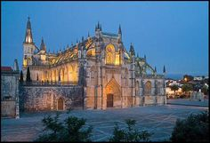 Another one of my favorite sights in Portugal, the monastery in Batahla, Portugal