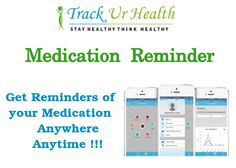 Medication reminder offers reminders of your medication at the right time, so that you do not miss it.