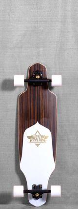 """Dusters 34"""" Channel Longboard Complete - Ebony"""