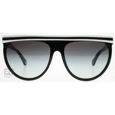 6a6850fdf05e03 D G 3041 White on Black   D G Sunglasses   3041 15748g   UK Jimmy Choo  Sunglasses