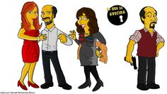 La que se avecina - Judith, Enrique, Areceli y Antonio