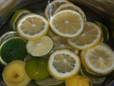 Skvelý limetkový sirup, domáci RECEPT � Lime, Fruit, Food, Syrup, Limes, Essen, Meals, Yemek, Eten