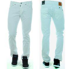 Jean Pepe Jeans Spike Blanc