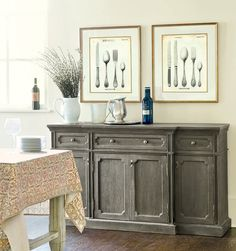 Dining room shelving (match my buffet table) | Dining Room ...