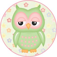 MAKE YOUR OWN CUTE DECORATION - Flower Owls #6