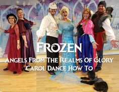 Frozen Angels From the Realms of Glory Christmas Carol Dance How To | Adventures In Dance