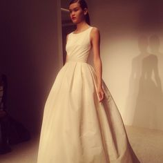 Amsale Fall 2013....the simplicity of this dress is dreamy