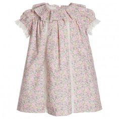 Nanos Liberty-Print Floral Dress at Childrensalon.com