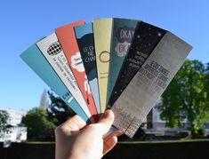 Nos étoiles contraires - Marque pages (The Fault in our stars - Bookmarks)_Céline Online