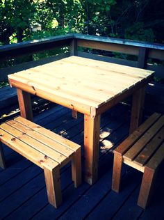 Benches Made From Bed Frames | Ikea Hack: Turning a Bed Frame Into a Table & Benches