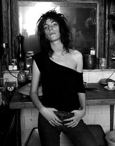 """zombiesenelghetto:  Patti Smith by Norman Seeff, NYC 1969  """