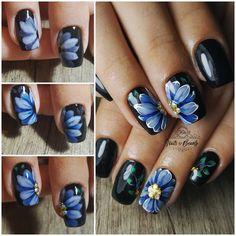 SBS flower nailart...#stepbystep #stepbystepnails #stepbystepnailart #flowernailart #flowernails #nailart #nailsoftheday #nailsart… Beauty Nails, Hair Beauty, Flower Nail Art, Nailart, Nail Polish, Makeup, Flowers, Clothes, Instagram