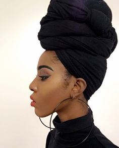 stylish head wraps for natural hair Perm, Head Wrap Scarf, Head Scarfs, Turban Style, Black Is Beautiful, Black Girl Magic, Head Wraps, Hair Goals, Hair Inspiration