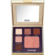Tarte Double Duty Beauty Day/Night Eye & Cheek Palette Classic Courage