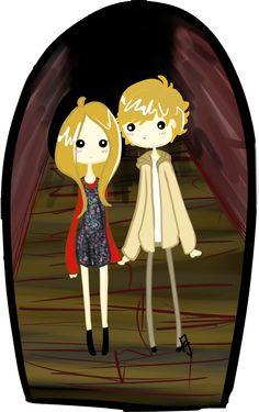 AHS- Tate And Violet by su-i-cide-kid.deviantart.com