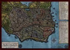 fantasy city map - Google Search