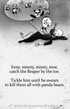 Writer/illustrator Alicia VanNoy Call is creating a series of Apocalyptic Nursery Rhymes that are equal parts cute and disturbing. Creepy Nursery Rhymes, Morbider Humor, Creepy Poems, Creepy Quotes, Dark Nursery, John Kenn, Nursery Songs, Pomes, Creepy Stories