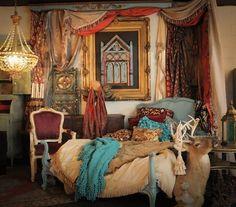 gypsy bedroom decorating ideas | Via GypsyFaire