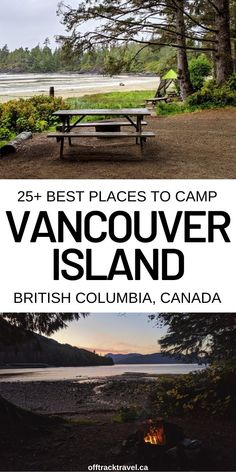 A complete guide to camping on Vancouver Island, including of the best campsites, insider tips and essential safety advice Best Places To Camp, Camping Places, Cool Places To Visit, Places To Travel, Places To Go, Van Camping, Rv Travel, Camping Ideas, Canada Destinations
