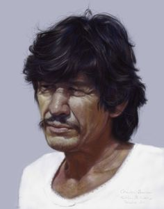 Portrait of Charles Bronson