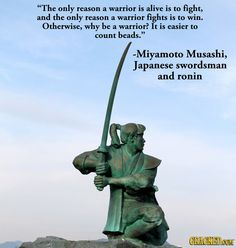 Yes. This. It's not about the honor or any of that Rokugan shit. Warriors do a job, and I want to respect that.