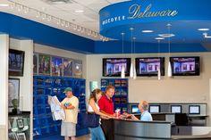 Delaware Welcome Center & Travel Plaza - Information Desk and Displays