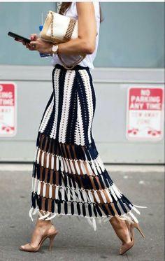 Striped skirt I'm obsessed!!