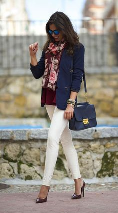 #Working #Woman #Winter #Look. Perfect length in the pants! Love it!