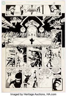 Original Comic Art:Panel Pages, Steve Rude and Gary Martin Nexus: The Origin #1 Story Page31 Original Art (Dark Horse, 1992...