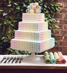 dots cake!!