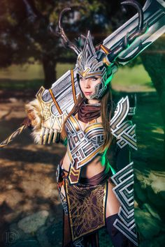 The Warrior - Guild Wars 2 by KamuiCosplay
