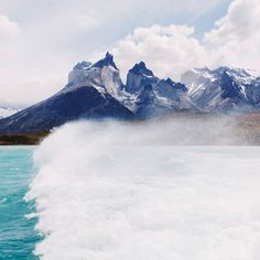 Los Cuernos by Alex Strohl on Visit Montana, Torres Del Paine National Park, Nevada City, Costa Rica Travel, Natural Wonders, Beautiful World, Patagonia, Amazing, Tourism