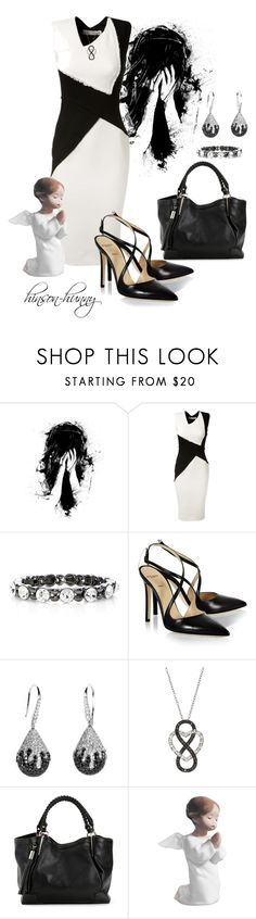 """""""Sometimes life can be unfair, Pray."""" by hinson-hunny ❤ liked on Polyvore featuring moda, Victoria Beckham, White House Black Market, Alexander White ve Lladró"""